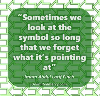 Imam abdul latif quote symbol