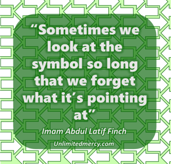Imam abdul latif quote symbol