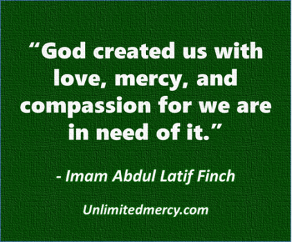 Imam Abdul Latif Finch thought quote 1