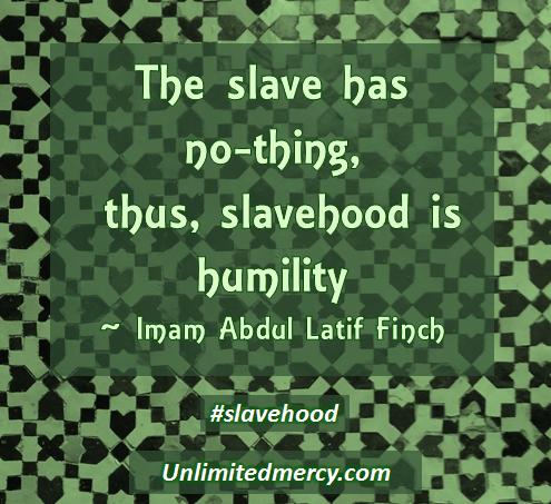 Imam Abdul Latif Finch Slavehood 1
