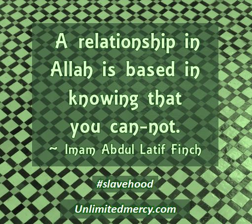Imam Abdul Latif Finch Slavehood 3
